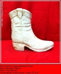 Large Western Boot - #1540G