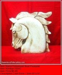 Horsehead Bust Pedestal - #1534C