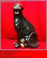 Sitting Panther - #1502Q