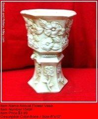 Annual Flower Vase - #1549F