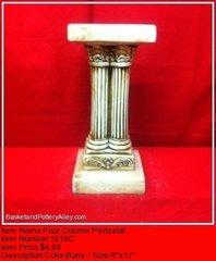 Four Column Pedestal - #1519C