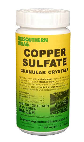 Southern Ag Copper Sulfate Granular Crystals 1 Lb And 2