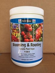 Ferti-Lome Blooming and Rooting Soluble Plant Food 9-58-8 (3 lbs, 1.5 lbs, 8 oz.)