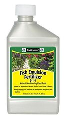 Fertilome Concentrate Fish Emulsion Fertilizer, Quart or Pint