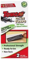 Tomcat Rat Size Glue Traps, 2-Pack (Eugenol Formula), Glue Board, Mice, Rats