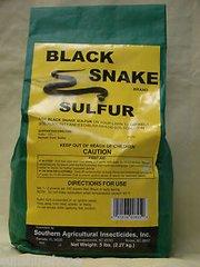 BLACK SNAKE SULFUR (Organic) 5 lbs.