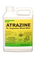 ATRAZINE ST. AUGUSTINE WEED KILLER- Quarts and Gallons