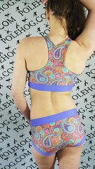 Perfect paisley racer top