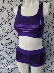 Purple reign racer top