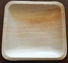 6 inch Square Plate (Carton of 100 - 10 x Pack of 10)