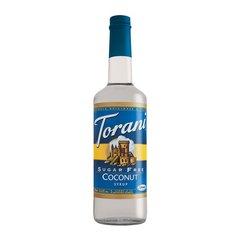 Torani Coconut Syrup Sugar Free