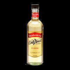 DaVinci Gourmet® Classic Syrup - Macadamia Nut