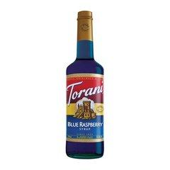 Torani Blue Raspberry Dairy Friendly Syrup
