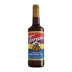 Torani Chocolate Macadamia Nut Syrup