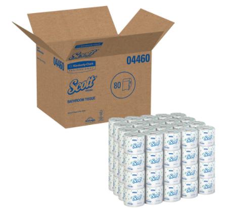 SCOTT® 2-PLY STANDARD ROLL BATH TISSUE
