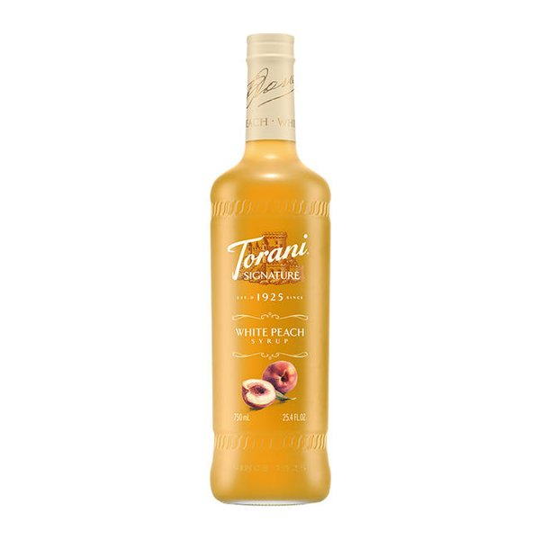 Torani Signature White Peach Syrup