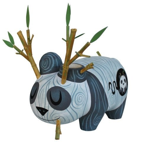 Wood Pandalope custom vinyl figure