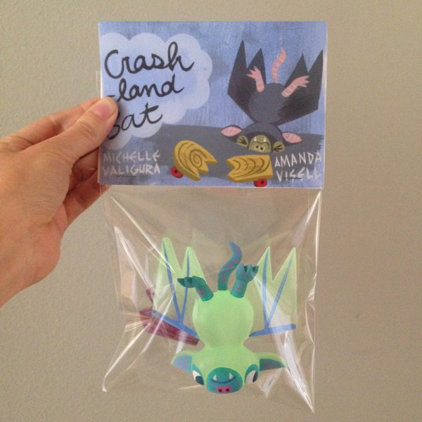 Glow in the dark Crash-land Bat-SOLD OUT