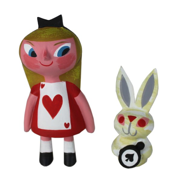 Ace Alice and white rabbit