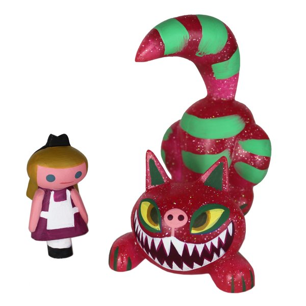 Fang Cheshire Cat and Alice