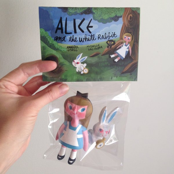 Alice and the White Rabbit-Sold Out