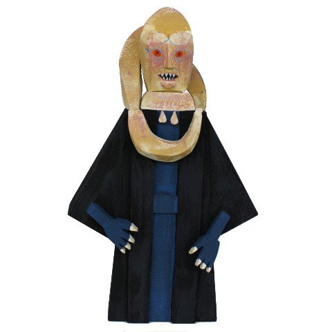 Bib Fortuna wood idol