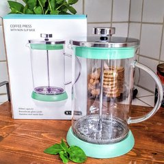Tundra Glass Coffee Press in Mint