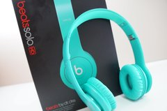 CLASSIC Beats by Dr. Dre Solo HD Drenched in MiNT On-Ear Headphones