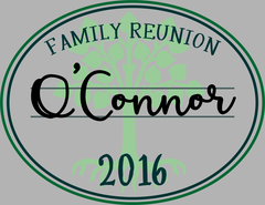 Family Reunion Stamp Customizable Tee or tank