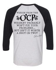 ***NEWEST*** OCP Wisdom BASEBALL tee