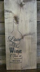 Love The Wine Sign