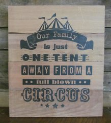 Family Circus Sign