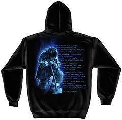 Hooded Sweatshirt Fireman's Prayer