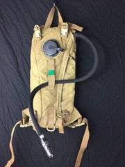 Military 3L 100oz Hydration Carrier w bladder Backpack Camelback ILBE Coyote S2