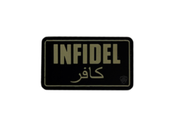 PVC MORALE PATCH - INFIDEL