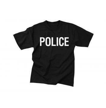 Police t shirt double sided print military surplus and for T shirt printing in charlotte nc