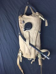 Military 3L 100oz Hydration Carrier w bladder Backpack Camelback ILBE Coyote S1