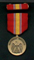 MEDAL SET; NATIONAL DEFENSE SERVICE 8455-00-281-3214
