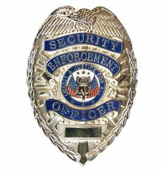 Rothco Deluxe Security Enforcement Officer Badge