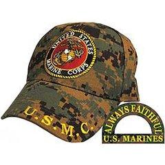 USMC EGA LOGO DIGITAL CAMO CAP | CP00324