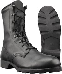 "ALTAMA BLACK LEATHER COMBAT BOOT 10"" 515701"