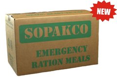 Sopakco Sure-Pak MRE Full Meal Kit with Heater - Case of 14 (Civilian MRE)