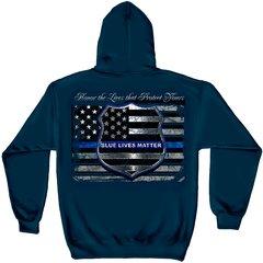 Blue Lives Matter Sweatshirt | THF2293SW