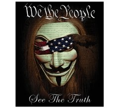 We the People Fleece Blanket | RN2207-TB