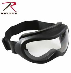 Rothco Black Windstorm Tactical Goggle