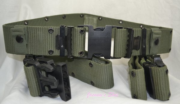 Military Issue Pistol Belt Od Military Surplus And