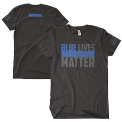 BLUE LIVES MATTER TWO-SIDED T-SHIRT 63-480