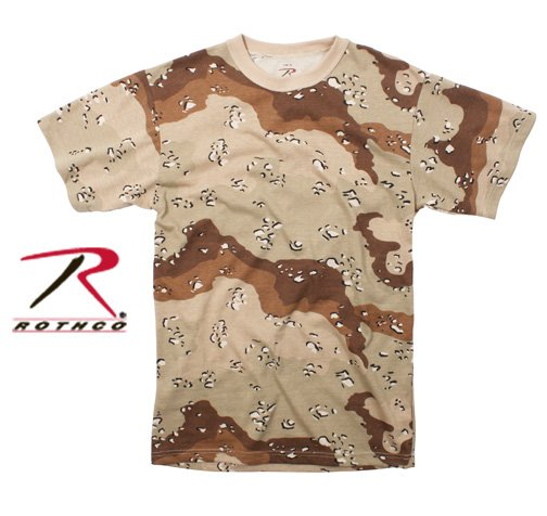 Desert Quot Chocolate Chip Quot Camo T Shirt Six Color Desert 6
