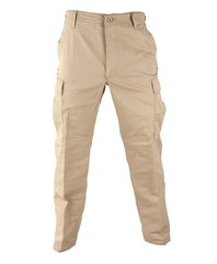 Khaki BDU Tactical Military Pants Propper Genuine Gear Zipper Fly 60/40 Ripstop