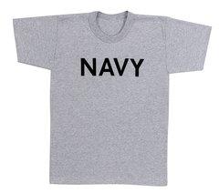 NAVY Grey Physical Training T-Shirt   60010